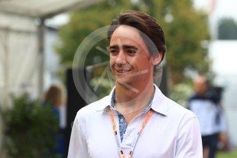 World © Octane Photographic Ltd. Formula 1 - German GP - Paddock. Esteban Gutierrez. Hockenheimring, Baden-Wurttemberg, Germany. Saturday 21st July 2018.