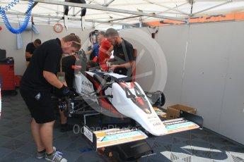 World © Octane Photographic Ltd. ADAC Formula 4 (F4). Vaclav Safar. Hockenheimring Paddock, Baden-Wurttemberg, Germany. Thursday 19th July 2018.