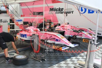 World © Octane Photographic Ltd. ADAC Formula 4 (F4). ADAC Berlin-Brandenburg e.V. Hockenheimring Paddock, Baden-Wurttemberg, Germany. Thursday 19th July 2018.
