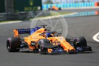 World © Octane Photographic Ltd. Formula 1 – Hungarian GP - Green flag lap. McLaren MCL33 – Fernando Alonso. Hungaroring, Budapest, Hungary. Sunday 29th July 2018.