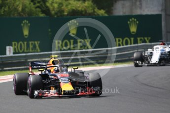 World © Octane Photographic Ltd. Formula 1 – Hungarian GP - Green flag lap. Aston Martin Red Bull Racing TAG Heuer RB14 – Max Verstappen. Hungaroring, Budapest, Hungary. Sunday 29th July 2018.