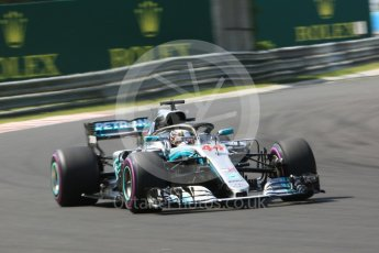 World © Octane Photographic Ltd. Formula 1 – Hungarian GP - Green flag lap. Mercedes AMG Petronas Motorsport AMG F1 W09 EQ Power+ - Lewis Hamilton. Hungaroring, Budapest, Hungary. Sunday 29th July 2018.