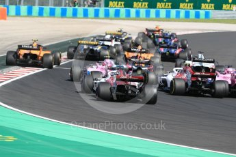 World © Octane Photographic Ltd. Formula 1 – Hungarian GP - Race. Alfa Romeo Sauber F1 Team C37 – Charles Leclerc. Hungaroring, Budapest, Hungary. Sunday 29th July 2018.