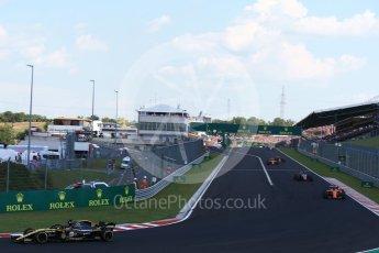 World © Octane Photographic Ltd. Formula 1 – Hungarian GP - Race. Renault Sport F1 Team RS18 – Nico Hulkenberg. Hungaroring, Budapest, Hungary. Sunday 29th July 2018.