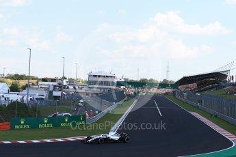 World © Octane Photographic Ltd. Formula 1 – Hungarian GP - Race. Williams Martini Racing FW41 – Lance Stroll. Hungaroring, Budapest, Hungary. Sunday 29th July 2018.