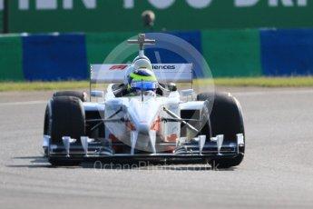 World © Octane Photographic Ltd. Formula 1 – Hungarian GP - F1 Experiences cars on track. Zsolt Baumgartner. Hungaroring, Budapest, Hungary. Friday 27th July 2018.
