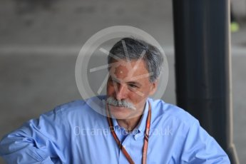 World © Octane Photographic Ltd. Formula 1 – Hungarian GP - Paddock. Chase Carey - Chief Executive Officer of the Formula One Group. Hungaroring, Budapest, Hungary. Friday 27th July 2018.