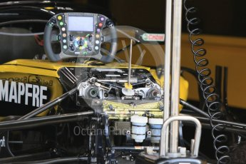 World © Octane Photographic Ltd. Formula 1 – Hungarian GP - Morning setup. Renault Sport F1 Team RS18. Hungaroring, Budapest, Hungary. Saturday 28th July 2018.