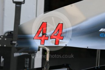 World © Octane Photographic Ltd. Formula 1 – Hungarian GP - Paddock. Mercedes AMG Petronas Motorsport AMG F1 W09 EQ Power+ - Lewis Hamilton. Hungaroring, Budapest, Hungary. Saturday 28th July 2018.