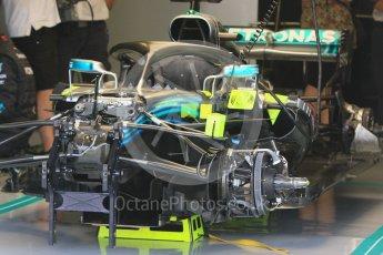 World © Octane Photographic Ltd. Formula 1 – Hungarian GP - Paddock. Mercedes AMG Petronas Motorsport AMG F1 W09 EQ Power+. Hungaroring, Budapest, Hungary. Saturday 28th July 2018.