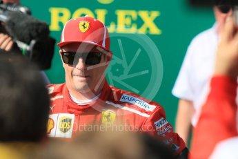 World © Octane Photographic Ltd. Formula 1 – Hungarian GP - Parc Ferme. Scuderia Ferrari SF71-H – Kimi Raikkonen. Hungaroring, Budapest, Hungary. Sunday 29th July 2018.
