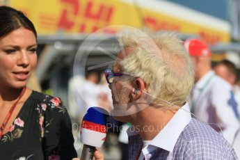 World © Octane Photographic Ltd. Formula 1 – Hungarian GP. Commentator Jacques Villeneuve. Hungaroring, Budapest, Hungary. Sunday 29th July 2018.