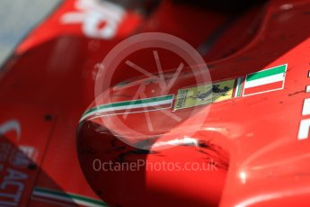 World © Octane Photographic Ltd. Formula 1 – Hungarian GP - Parc Ferme. Scuderia Ferrari SF71-H – Sebastian Vettel. Hungaroring, Budapest, Hungary. Sunday 29th July 2018.