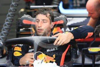 World © Octane Photographic Ltd. Formula 1 – Hungarian GP - Practice 1. Aston Martin Red Bull Racing TAG Heuer RB14 – Daniel Ricciardo. Hungaroring, Budapest, Hungary. Friday 27th July 2018.