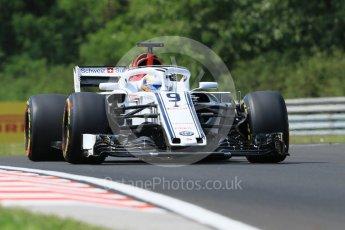 World © Octane Photographic Ltd. Formula 1 – Hungarian GP - Practice 1. Alfa Romeo Sauber F1 Team C37 – Marcus Ericsson. Hungaroring, Budapest, Hungary. Friday 27th July 2018.