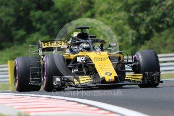 World © Octane Photographic Ltd. Formula 1 – Hungarian GP - Practice 1. Renault Sport F1 Team RS18 – Nico Hulkenberg. Hungaroring, Budapest, Hungary. Friday 27th July 2018.