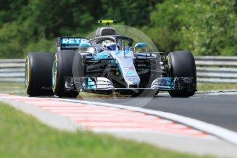 World © Octane Photographic Ltd. Formula 1 – Hungarian GP - Practice 1. Mercedes AMG Petronas Motorsport AMG F1 W09 EQ Power+ - Valtteri Bottas. Hungaroring, Budapest, Hungary. Friday 27th July 2018.
