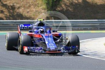 World © Octane Photographic Ltd. Formula 1 – Hungarian GP - Practice 1. Scuderia Toro Rosso STR13 – Pierre Gasly. Hungaroring, Budapest, Hungary. Friday 27th July 2018.