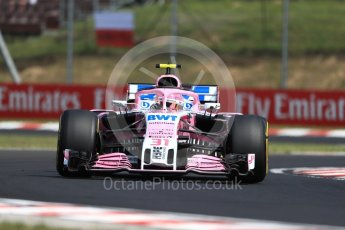World © Octane Photographic Ltd. Formula 1 – Hungarian GP - Practice 1. Sahara Force India VJM11 - Esteban Ocon. Hungaroring, Budapest, Hungary. Friday 27th July 2018.