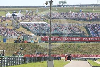 World © Octane Photographic Ltd. Formula 1 – Hungarian GP - Practice 2. Fans. Hungaroring, Budapest, Hungary. Friday 27th July 2018.