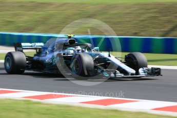 World © Octane Photographic Ltd. Formula 1 – Hungarian GP - Practice 2. Mercedes AMG Petronas Motorsport AMG F1 W09 EQ Power+ - Valtteri Bottas. Hungaroring, Budapest, Hungary. Friday 27th July 2018.