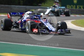 World © Octane Photographic Ltd. Formula 1 – Hungarian GP - Practice 2. Scuderia Toro Rosso STR13 – Pierre Gasly. Hungaroring, Budapest, Hungary. Friday 27th July 2018.
