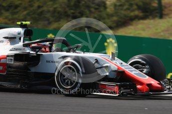 World © Octane Photographic Ltd. Formula 1 – Hungarian GP - Practice 2. Haas F1 Team VF-18 – Kevin Magnussen. Hungaroring, Budapest, Hungary. Friday 27th July 2018.