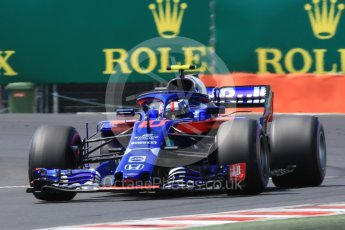 World © Octane Photographic Ltd. Formula 1 – Hungarian GP - Practice 3. Scuderia Toro Rosso STR13 – Pierre Gasly. Hungaroring, Budapest, Hungary. Saturday 28th July 2018.