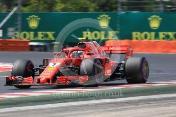 World © Octane Photographic Ltd. Formula 1 – Hungarian GP - Practice 3. Scuderia Ferrari SF71-H – Kimi Raikkonen. Hungaroring, Budapest, Hungary. Saturday 28th July 2018.