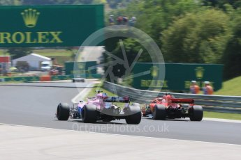 World © Octane Photographic Ltd. Formula 1 – Hungarian GP - Practice 3. Scuderia Ferrari SF71-H – Sebastian Vettel. Hungaroring, Budapest, Hungary. Saturday 28th July 2018.