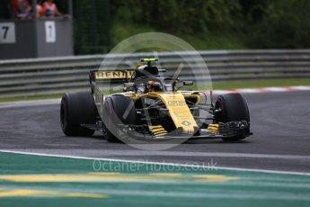 World © Octane Photographic Ltd. Formula 1 – Hungarian GP - Qualifying. Renault Sport F1 Team RS18 – Carlos Sainz. Hungaroring, Budapest, Hungary. Saturday 28th July 2018.