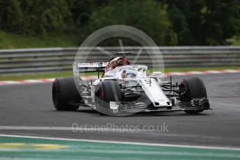 World © Octane Photographic Ltd. Formula 1 – Hungarian GP - Qualifying. Alfa Romeo Sauber F1 Team C37 – Marcus Ericsson. Hungaroring, Budapest, Hungary. Saturday 28th July 2018.