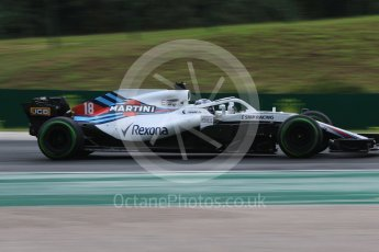 World © Octane Photographic Ltd. Formula 1 – Hungarian GP - Qualifying. Williams Martini Racing FW41 – Lance Stroll. Hungaroring, Budapest, Hungary. Saturday 28th July 2018.