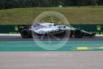 World © Octane Photographic Ltd. Formula 1 – Hungarian GP - Qualifying. Williams Martini Racing FW41 – Sergey Sirotkin. Hungaroring, Budapest, Hungary. Saturday 28th July 2018.