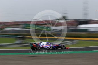 World © Octane Photographic Ltd. Formula 1 – Hungarian GP - Qualifying. Scuderia Toro Rosso STR13 – Pierre Gasly. Hungaroring, Budapest, Hungary. Saturday 28th July 2018.