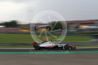World © Octane Photographic Ltd. Formula 1 – Hungarian GP - Qualifying. Haas F1 Team VF-18 – Romain Grosjean. Hungaroring, Budapest, Hungary. Saturday 28th July 2018.