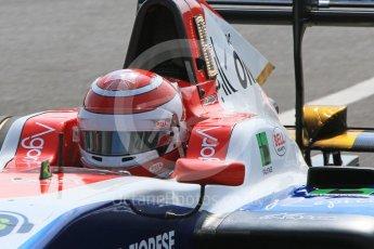 World © Octane Photographic Ltd. GP3 – Hungarian GP – Qualifying. Trident - Pedro Piquet. Hungaroring, Budapest, Hungary. Saturday 28th July 2018.