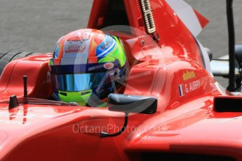 World © Octane Photographic Ltd. GP3 – Hungarian GP – Qualifying. Arden International - Gabriel Aubry. Hungaroring, Budapest, Hungary. Saturday 28th July 2018.