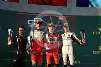 World © Octane Photographic Ltd. GP3 – Hungarian GP – Race 1. ART Grand Prix - Nikita Mazepin and Anthoine Hubert, Campos Racing – Leodardo Pulcini. Hungaroring, Budapest, Hungary. Saturday 28th July 2018.