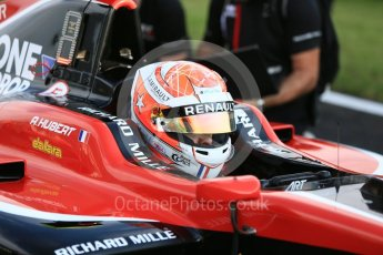 World © Octane Photographic Ltd. GP3 – Hungarian GP –   Race 1. ART Grand Prix - Anthoine Hubert. Hungaroring, Budapest, Hungary. Saturday 28th May 2018.