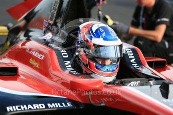 World © Octane Photographic Ltd. GP3 – Hungarian GP – Race 1. ART Grand Prix – Jake Hughes. Hungaroring, Budapest, Hungary. Saturday 28th July 2018.