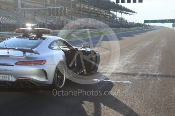 World © Octane Photographic Ltd. GP3 – Hungarian GP – Race 1. Mercedes AMG GTr Safety Car. Hungaroring, Budapest, Hungary. Saturday 28th July 2018.