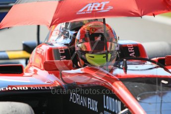 World © Octane Photographic Ltd. GP3 – Hungarian GP – Race 2. ART Grand Prix - Callum Illot. Hungaroring, Budapest, Hungary. Sunday 29th July 2018.