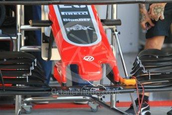 World © Octane Photographic Ltd. Formula 1 – Hungarian GP - Pitlane. Haas F1 Team VF-18 – Kevin Magnussen. Hungaroring, Budapest, Hungary. Thursday 26th July 2018.