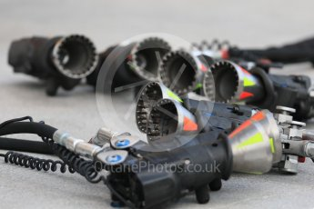 World © Octane Photographic Ltd. Formula 1 – Hungarian GP - Pit Lane. McLaren MCL33. Hungaroring, Budapest, Hungary. Thursday 26th July 2018.