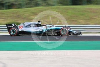 World © Octane Photographic Ltd. Formula 1 – Hungarian Post-Race Test - Day 2. Mercedes AMG Petronas Motorsport AMG F1 W09 EQ Power+ - George Russell. Hungaroring, Budapest, Hungary. Wednesday 1st August 2018.