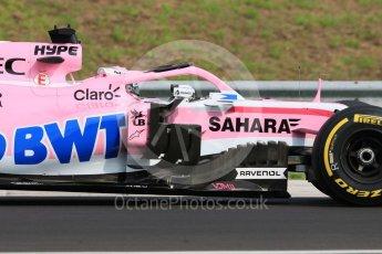 World © Octane Photographic Ltd. Formula 1 – Hungarian Post-Race Test - Day 2. Sahara Force India VJM11 – Nikita Mazepin. Hungaroring, Budapest, Hungary. Wednesday 1st August 2018.