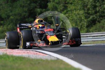 World © Octane Photographic Ltd. Formula 1 – Hungarian Post-Race Test - Day 2. Aston Martin Red Bull Racing TAG Heuer RB14 – Jake Dennis. Hungaroring, Budapest, Hungary. Wednesday 1st August 2018.