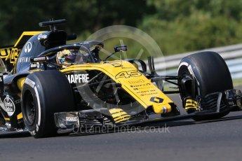 World © Octane Photographic Ltd. Formula 1 – Hungarian Post-Race Test - Day 2. Renault Sport F1 Team RS18 – Artem Markelov. Hungaroring, Budapest, Hungary. Wednesday 1st August 2018