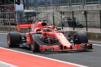 World © Octane Photographic Ltd. Formula 1 – Hungarian Post-Race Test - Day 2. Scuderia Ferrari SF71-H – Kimi Raikkonen. Hungaroring, Budapest, Hungary. Wednesday 1st August 2018.